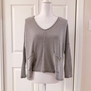 Charlotte Russe Cropped Long Sleeve
